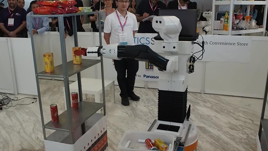 Robotics.SG Team Robotics Hackathon TIAGo