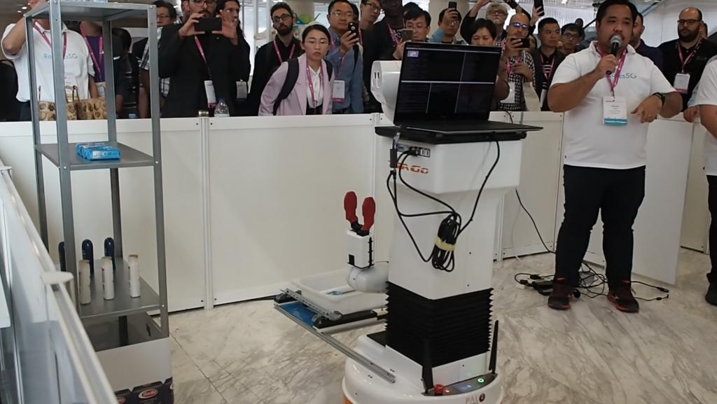 Robotics.SG Team hackathon robotics tiago