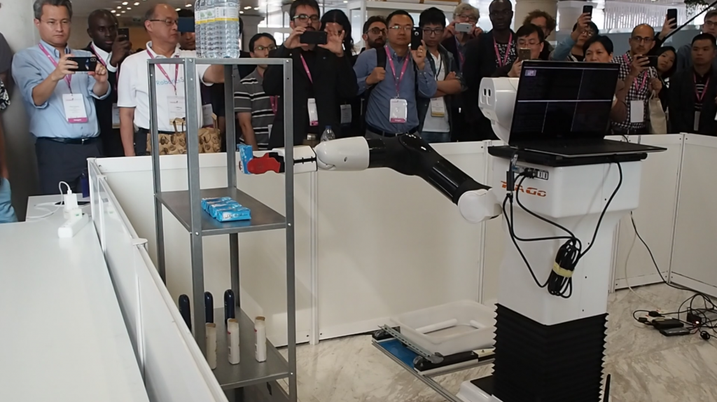 Robotics.SG Team robot tiago hackathon iros 2018