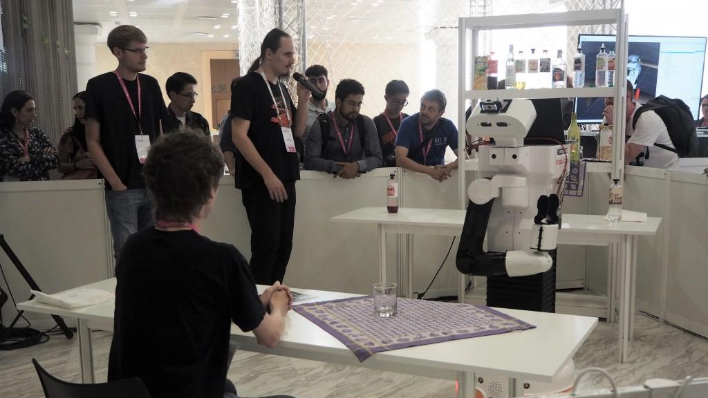 TAMS Team Hackathon TIAGo robot