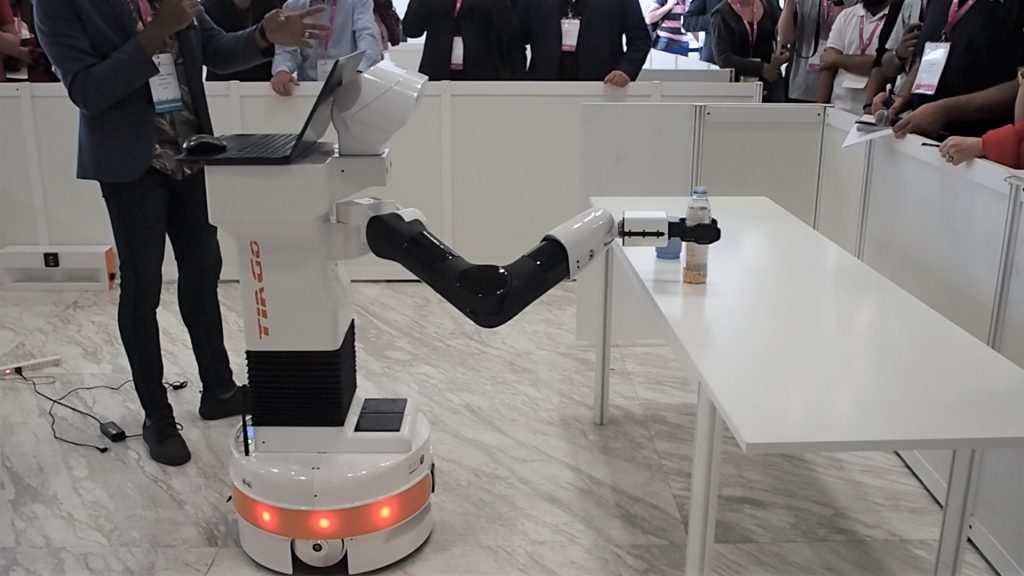PMM Tohoku Team TIAGo robot