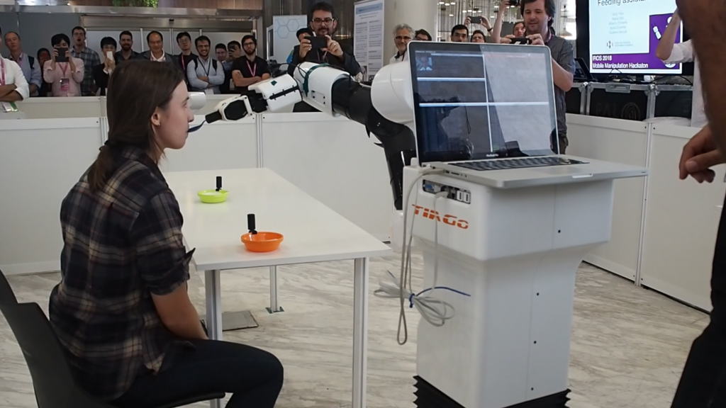 IRI Team assisted living robot upc